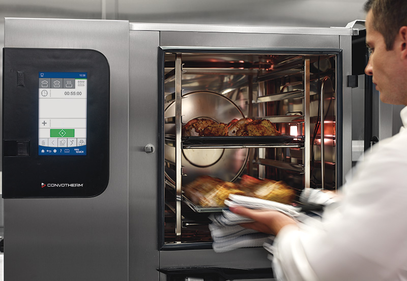 Our range of combi ovens brings style into your professional kitchen