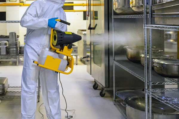 convotherm hygienic solution - kitchen disinfection spray water