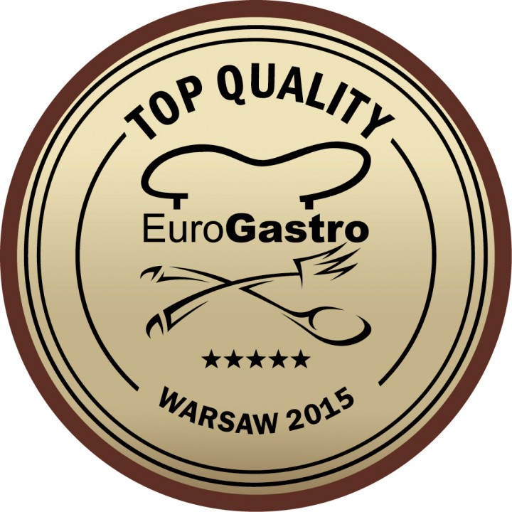 Recognized with the EuroGastro AWARD 2015