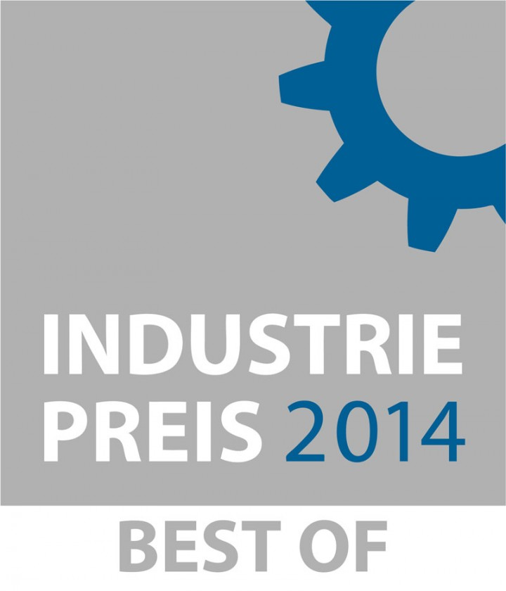 Awarded with the INDUSTRIEPREIS – BEST OF 2014
