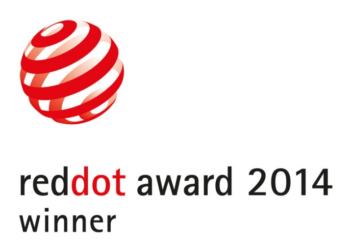 Recognized with the Red Dot Award: Product Design 2014